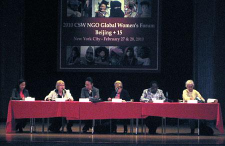 2010 CSW NGO Beijing
