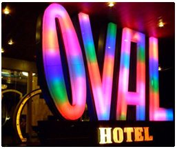oval hotel